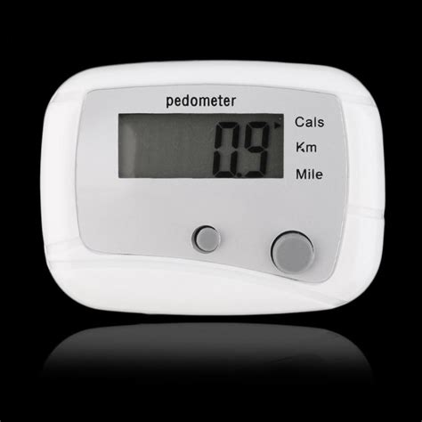 Portable Digital Distance Counter Fitness Pedometer