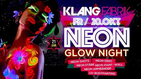 Party - Neon Glow Night // Die UV-Paint-Party