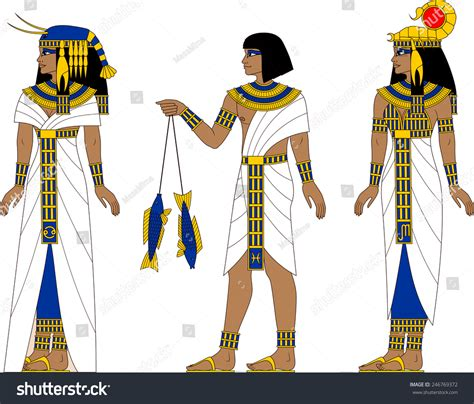 Illustration Earth Egyptian Zodiac Signs Cancer Stock