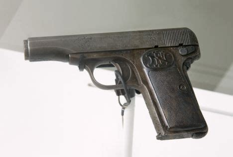 Revealed: Pistol that sparked World War One goes on