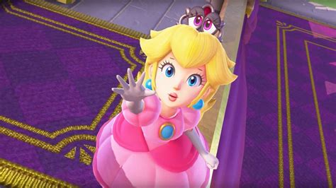 Who knew that Nintendo could transform Princess Peach into