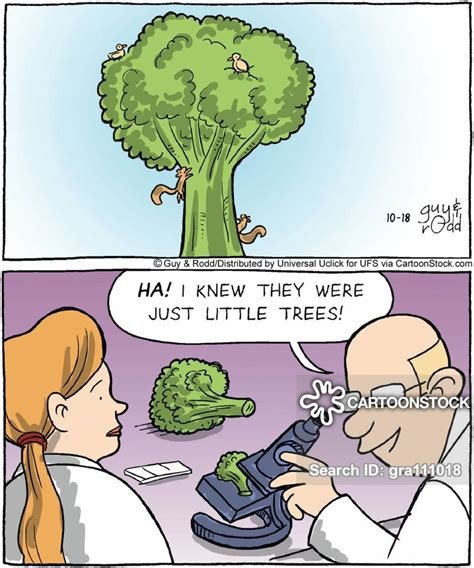 Broccoli Cartoons and Comics - funny pictures from