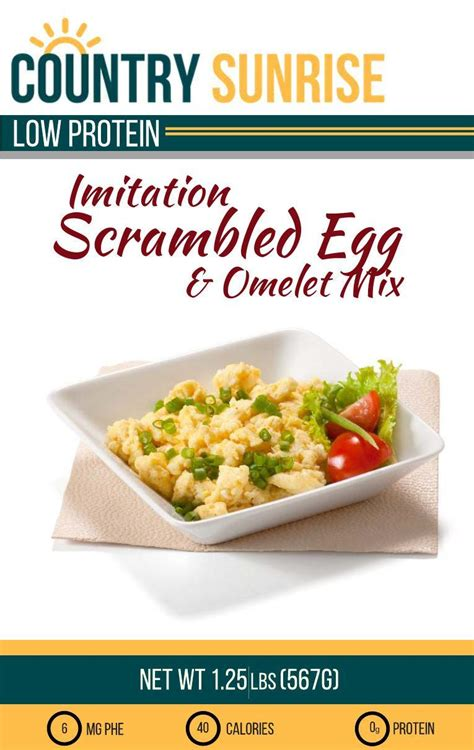 Country Sunrise Egg and Omelet Mix   PKU Perspectives