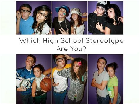 Which High School Stereotype Describes You?   Playbuzz