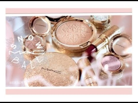 MAC SNOWBALL HOLIDAY 2017 COLLECTION - Beauty Products Are