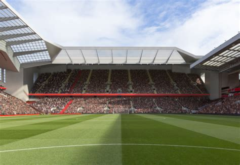 Liverpool unveil expanded £60m Anfield stand plan