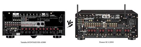 Yamaha AVENTAGE RX-A3080 vs Pioneer SC-LX901 Review [2019