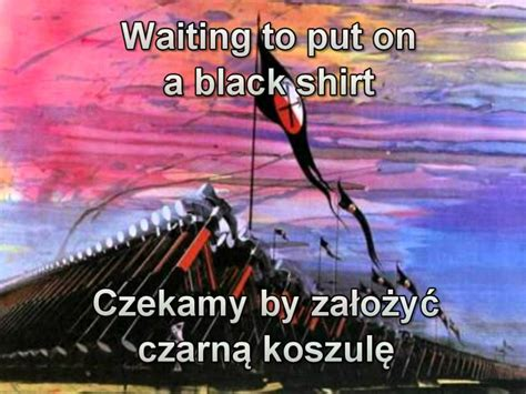 Pink Floyd - Waiting for the worms (Polish and English