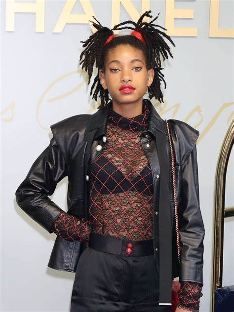 Willow Smith – Chanel Metiers d'Art 2016/17 Collection in