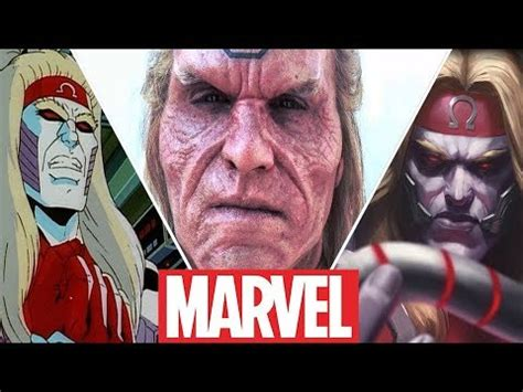Omega Red Evolution in Movies,Cartoons and Games (2019