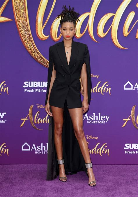 """Willow Smith – """"Aladdin"""" Premiere in Hollywood"""
