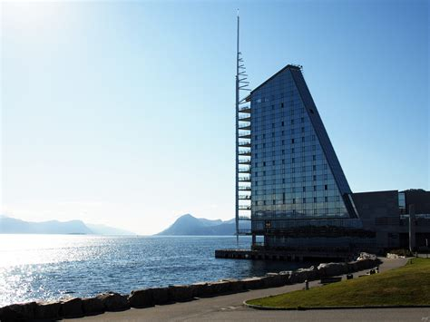 Image: The 'Sail' hotel, Molde, Norway