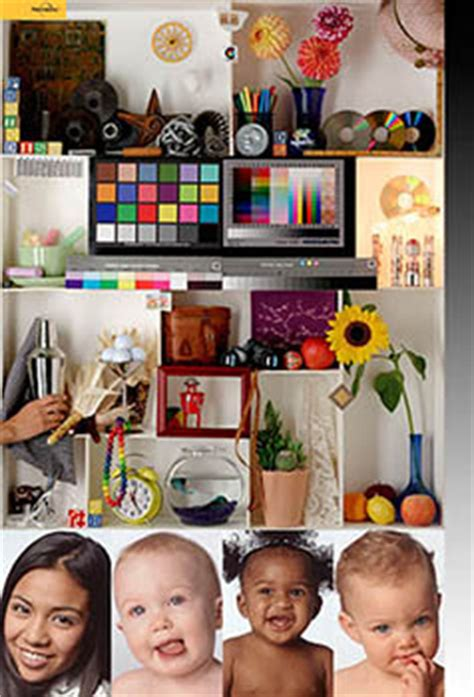 Colour Management in your web browser - Test Images