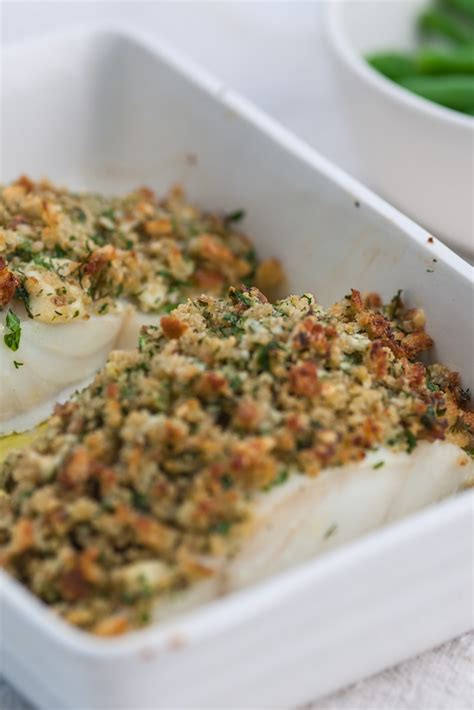 Pollock Recipe With Cheddar & Herb Crust - Great British Chefs