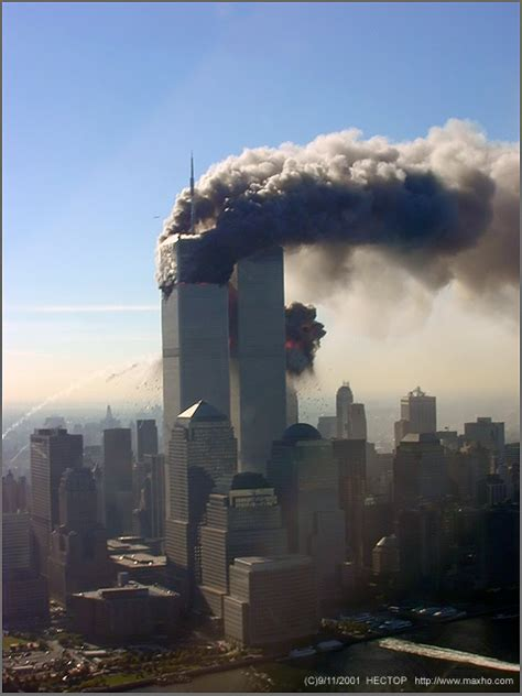 Russian Pilot Making Photos 9/11 Flying Above NYC