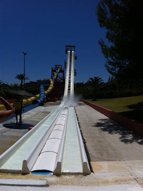 A Fun Day at Aqualand, the Costa del Sol's Largest Water