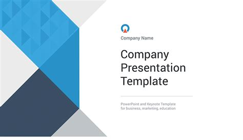Company presentation template - Download Free Now!